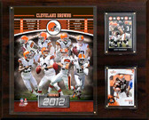 "NFL 12""x15"" Cleveland Browns 2012 Team Plaque"