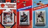 NFL Cleveland Browns Licensed 2011 Score Team Set With Twelve Card 2011 Prestige All-Star and Quarterback Set