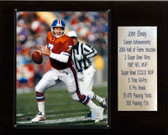 "NFL 12""x15"" John Elway Denver Broncos Career Stat Plaque"