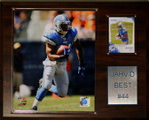 "NFL 12""x15"" Jahvid Best Detroit Lions Player Plaque"