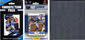 NFL Detroit Lions Licensed 2012 Score Team Set and Favorite Player Trading Card Pack Plus Storage Album