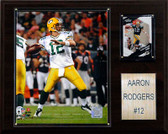 "NFL 12""x15"" Aaron Rodgers Green Bay Packers Player Plaque"