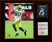 "NFL 12""x15"" Donald Driver Green Bay Packers Player Plaque"