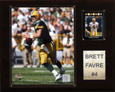 "NFL 12""x15"" Brett Favre Green Bay Packers Player Plaque"