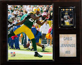 "NFL 12""x15"" Greg Jennings Green Bay Packers Player Plaque"