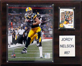 "NFL 12""x15"" Jordy Nelson Green Bay Packers Player Plaque"