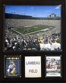 "NFL 12""x15"" Lambeau Field Stadium Plaque"