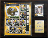 "NFL 12""x15"" Green Bay Packers 2010 NFC Champions Plaque"