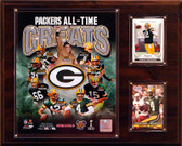"""NFL 12""""x15"""" Green Bay Packers All-Time Greats Photo Plaque"""