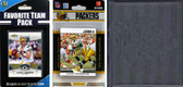 NFL Green Bay Packers Licensed 2012 Score Team Set and Favorite Player Trading Card Pack Plus Storage Album