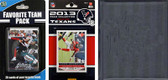 NFL Houston Texans Licensed 2013 Score Team Set and Favorite Player Trading Card Pack Plus Storage Album
