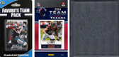 NFL Houston Texans Licensed 2014 Score Team Set and Favorite Player Trading Card Pack Plus Storage Album