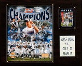 "NFL 12""x15"" Indianapolis Colts Super Bowl XLI Champions Plaque"