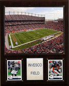 "NFL 12""x15"" Invesco Field Stadium Plaque"