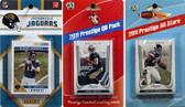 NFL Jacksonville Jaguars Licensed 2011 Score Team Set With Twelve Card 2011 Prestige All-Star and Quarterback Set