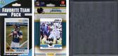 NFL Jacksonville Jaguars Licensed 2012 Score Team Set and Favorite Player Trading Card Pack Plus Storage Album