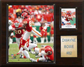 "NFL 12""x15"" Dwayne Bowe Kansas City Chiefs Player Plaque"