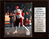 "NFL 12""x15"" Len Dawson Kansas City Chiefs Career Stat Plaque"