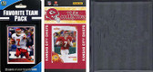 NFL Kansas City Chiefs Licensed 2010 Score Team Set and Favorite Player Trading Card Pack Plus Storage Album