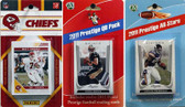 NFL Kansas City Chiefs Licensed 2011 Score Team Set With Twelve Card 2011 Prestige All-Star and Quarterback Set