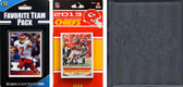 NFL Kansas City Chiefs Licensed 2013 Score Team Set and Favorite Player Trading Card Pack Plus Storage Album