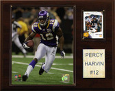 "NFL 12""x15"" Percy Harvin Minnesota Vikings Player Plaque"