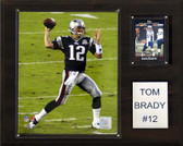 "NFL 12""x15"" Tom Brady New England Patriots Player Plaque"