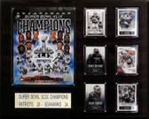 "NFL 16""x20"" New England Patriots Super Bowl XLIXI Champions Plaque"