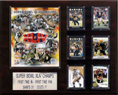 "NFL 16""x20"" New Orleans Saints Super Bowl XLIVChampions Plaque"