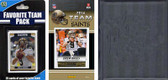 NFL New Orleans Saints Licensed 2014 Score Team Set and Favorite Player Trading Card Pack Plus Storage Album