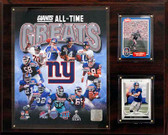 "NFL 12""x15"" New York Giants All-Time Great Photo Plaque"
