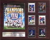 "NFL 16""x20"" New York Giants Super Bowl XLII Champions Plaque"