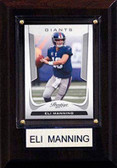 "NFL 4""x6"" Eli Manning New York Giants Player Plaque"