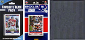 NFL New York Giants Licensed 2013 Score Team Set and Favorite Player Trading Card Pack Plus Storage Album