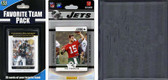 NFL New York Jets Licensed 2012 Score Team Set and Favorite Player Trading Card Pack Plus Storage Album