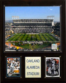"NFL 12""x15"" Oakland-Alameda County Coliseum Stadium Plaque"