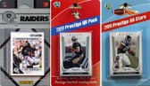 NFL Oakland Raiders Licensed 2011 Score Team Set With Twelve Card 2011 Prestige All-Star and Quarterback Set
