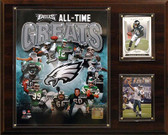 "NFL 12""x15"" Philadelphia Eagles All -Time Great Photo Plaque"