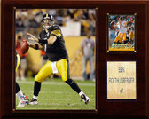 "NFL 12""x15"" Ben Roethlisberger Pittsburgh Steelers Player Plaque"