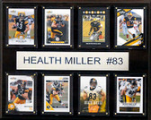 "NFL 12""x15"" Heath Miller Pittsburgh Steelers 8-Card Plaque"