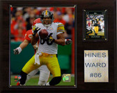 "NFL 12""x15"" Hines Ward Pittsburgh Steelers Player Plaque"