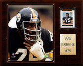 "NFL 12""x15"" Joe Greene Pittsburgh Steelers Player Plaque"