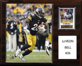 "NFL 12""x15"" Le'Veon Bell Pittsburgh Steelers Player Plaque"