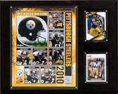 "NFL 12""x15"" Pittsburgh Steelers 2010 Team Plaque"