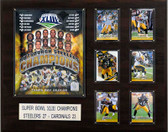 "NFL 16""x20"" Pittsburgh Steelers Super Bowl XLIII Champions Plaque"