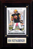 "NFL 4""x6"" Ben Roethlisberger Pittsburgh Steelers Player Plaque"