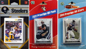 NFL Pittsburgh Steelers Licensed 2011 Score Team Set With Twelve Card 2011 Prestige All-Star and Quarterback Set