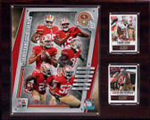 "NFL 12""x15"" San Francisco 49ers 2014 Team Plaque"