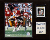 "NFL 12""x15"" Dwight Clark San Francisco 49ers Player Plaque"