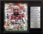"NFL 12""x15"" Jerry Rice San Francisco 49ers Career Stat Plaque"